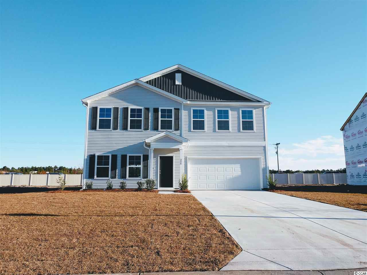 Currently selling at Coastal Point!  Just minutes to Myrtle Beach and historic downtown Conway, close to schools, shopping and the beach!   The McDowell plan is TO-BE-BUILT on any available lot, your buyer can choose their selections!  With 2,218 Htd SF, 2-story, 4 bedrooms 2.5 baths, and flex room/office. Can be built up to 5 bedrooms and 3 baths. Covered porch optional. The pictures shown of another McDowell home plan shows what a wonderful home it can be for your family!  Not the right home? We offer 6 other home plans, from 1,548 to 2,771 Htd SF, 3-6 bedrooms, 2-4 baths.  We have the home that will meet your needs!  All homes have 2 car garages.  Included features: Advanced Framing; Natural Gas! Gas heat, 2nd flr heat pump when separate system required; Tank-less gas hot water; Recessed Ceiling lights in Kitchen; GE Appliances; Kitchen Granite countertops; Programmable Thermostats; 9' ceilings on first floor; Energy Efficient with LED bulbs, 14-SEER HVAC system, Air Barrier, and Sealing;  Architectural Roof Shingles; Vinyl siding with Lifetime Warranty.    Buy with Peace of Mind with our Nationally Recognized Customer Service Care!  We provide Customer Orientations at Pre-construction, Pre-drywall, and Pre-closing, and QBW 2-10 year Warranty. Ask about our incentives and special financing programs!
