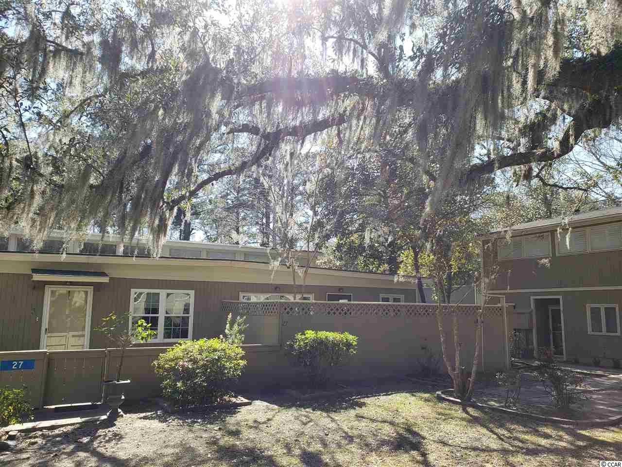 This 2 bed, 1 bath condo is located in the amazing and quiet Wedgefield area and is close to historic Georgetown!! This unit gets plenty of natural light which makes it feel open and light. The kitchen has plenty of room for you and your family and has been updated. As you walk into the living room you will see high ceilings which gives the space a great open feel. The bedrooms are large and the bathroom contains a shower/tub combo. This unit is very affordable and is ready for you. With a front court yard for pets or privacy, this unit has great outdoor space for you to use!