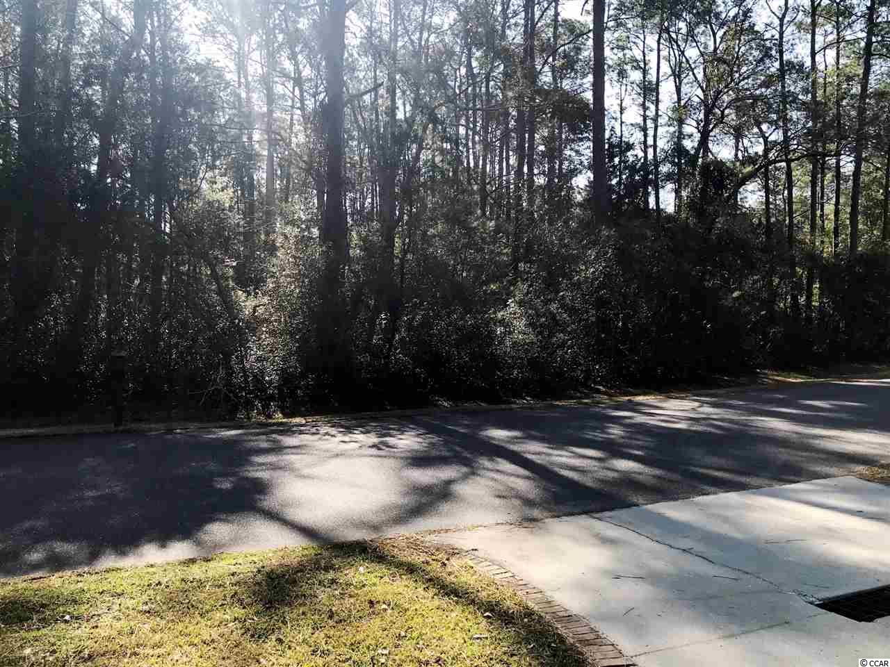 Beautiful Wooded Lot Overlooking Heritage Plantation Fairway.  Large Estate Sized Lot Within the Main Gated Section of Heritage. Amenities Include Clubhouse with Pool, Fitness Area, Card Rooms, Social Events, Playground and four Har-Tru Tennis Courts. Boat Launch Ramp with Direct Access to  the Waccamaw River/ICW. Marina with Dock Master. Measurements Approximate and Not Guaranteed.