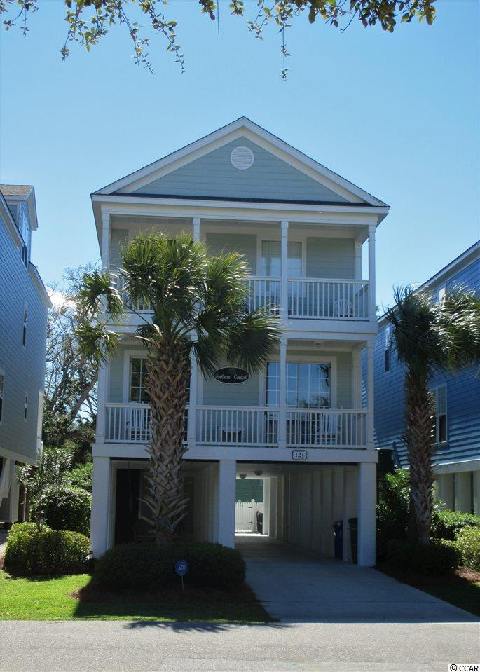 """Looking for a little """"Southern Comfort?""""  This 5-bedroom, 4-bathroom beach home has all the comfort you need.  Located less than 1-block from the beach, 121 14th Avenue North is located in the quaint town of Surfside Beach, South Carolina.  Home is not currently on a rental program but with a private pool, it has great rental potential.  Contact the listing agent, or your Realtor, for more information or to set up a private showing."""