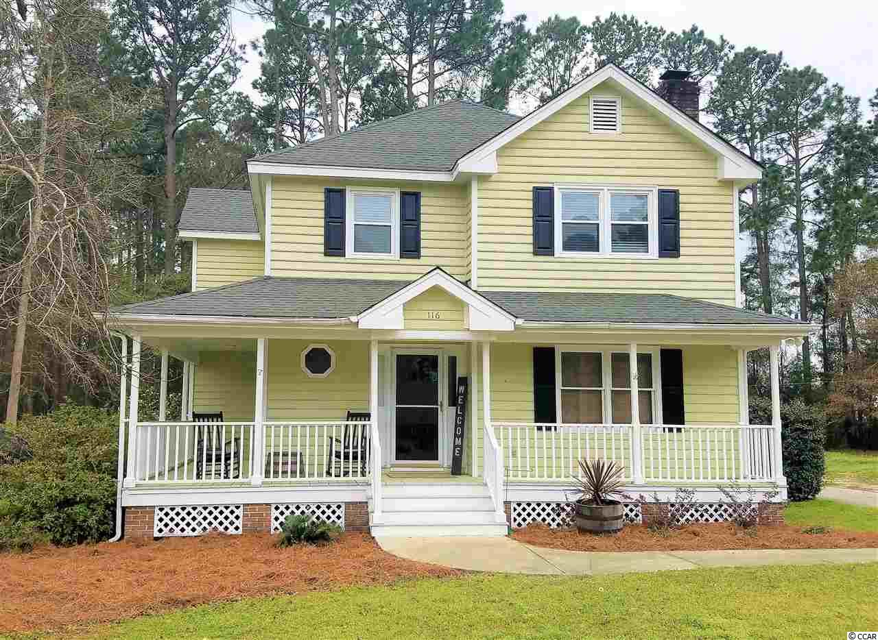Great traditional style, family home very close to schools in Pawley's Island.  Move in ready. This is a great price for a great neighborhood in Pawley's Island.  Close to everything and easy to see.