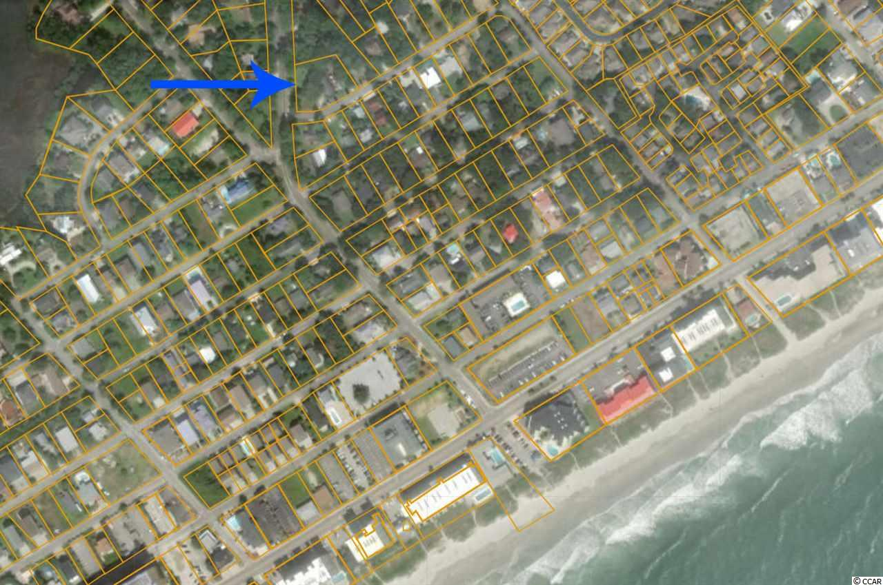 Extra large lot (three lots), just under 1/2 of an acre, which can be subdivided, with well cared for home on it next to Yow Park (City Park) very close to the beach in the Windy Hill section of North Myrtle Beach. Home has 4 bedroom 2 bathrooms. Perfect location for developing to build multiple homes in a gorgeous area just a few blocks to the ocean.