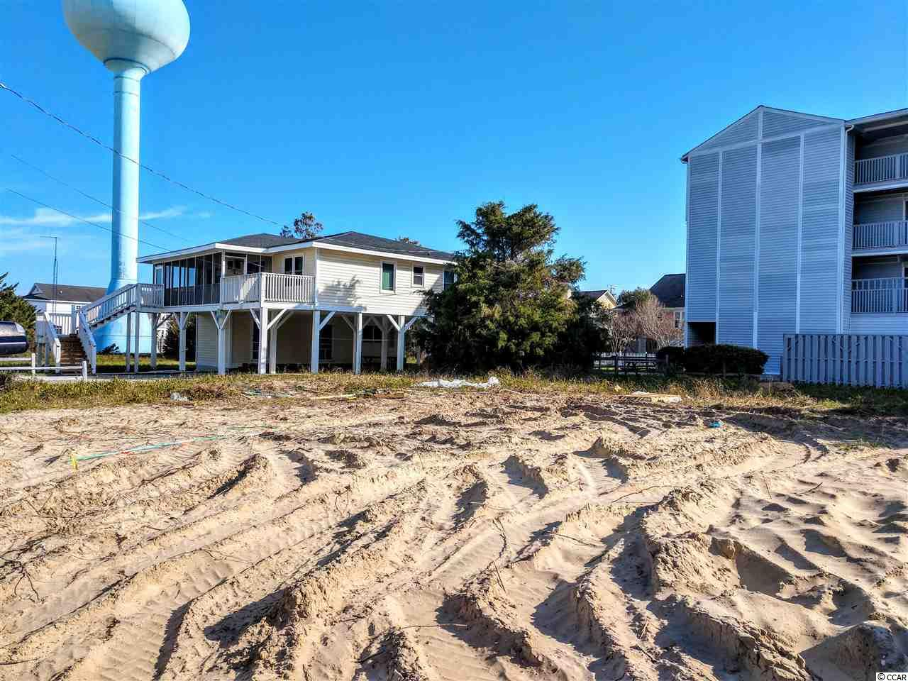 VACANT 2ND ROW LOT IN CHERRY GROVE.  R-4 ZONING ALLOWS FOR MANY GREAT OPPORTUNTIES.   LOCATED ON A BIG, CORNER LOT.  THIS LOT OVER LOOKS THE BEAUTIFUL ATLANTIC OCEAN.  EASY ACCESS TO THE BEACH. WALKWAY WITH DIRECT ACCESS TO THE BEACH!