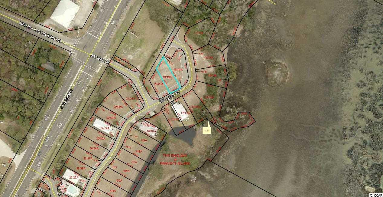 Lot in Gated Creek Front Community East of Hwy 17. Lot 19 The Enclave.  Community Swimming Pool and Community Dock. Lots 13, 14, 15, 16,17,18,19,20 and Commercial Lot 2 can be bought all together for SET PRICE with quick closing.