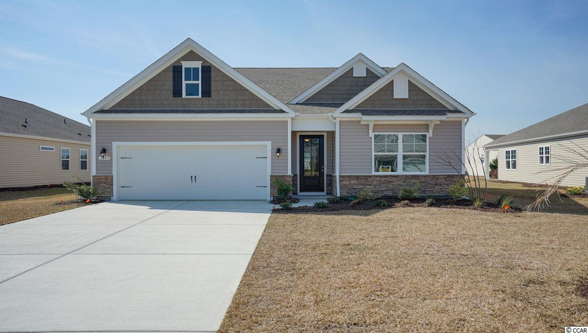 """Phase 2 now open! Master Planned Community in popular St. James school district. Community offers pool, fitness room, open air pavilion/clubhouse and food prep room by the pool, playgrounds, fishing dock in one of the many community lakes, sidewalk/walking trails throughout! Come see the Claiborne floor plan with stone accents on the exterior, open floor plan, Kitchen has Stainless appliances including gas range, 36"""" White painted wood cabinets & granite countertops. Hardwood floors, tile in wet areas, carpet in bedrooms, and nice covered back porch ! ***Square footage and measurements are estimates and are to be verified by the purchaser. Home is under construction. Photos are of a similar home with the same floor plan."""