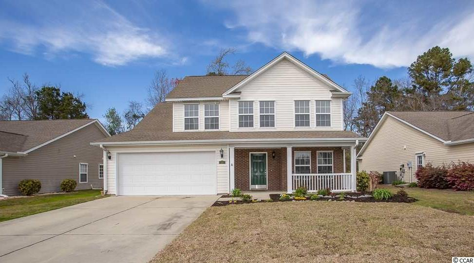 Welcome Home to this spacious and bright 3BR-2.1BA home, with an open floor plan, vaulted ceilings and great natural light. Located in the Carolina Crossing community in Little River. This home features a common area on the second floor, perfect for a playroom or TV area, a home office off the foyer, an over sized patio area great for entertaining with a nature view, two car garage with 4ft extension & great curb appeal. HOA fees includes basic cable, lawn maintenance, irrigation, Club House and Pool. Carolina Crossing is conveniently located close to the Little River Waterfront, beaches, dining, shopping and entertainment!