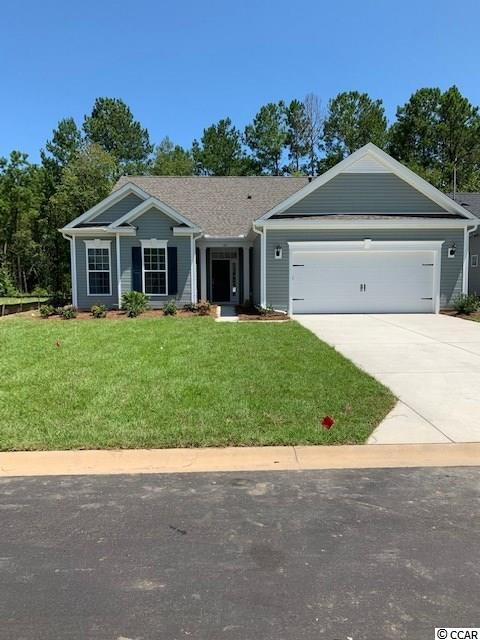 This Denali 3 bd, 2 bath home is located at Palm Lakes community. The open floor plan boasts a formal dining room, study with a screen porch. The eat-in kitchen has Granite countertops and stainless-steel appliances. The spacious master suite and deluxe master bath