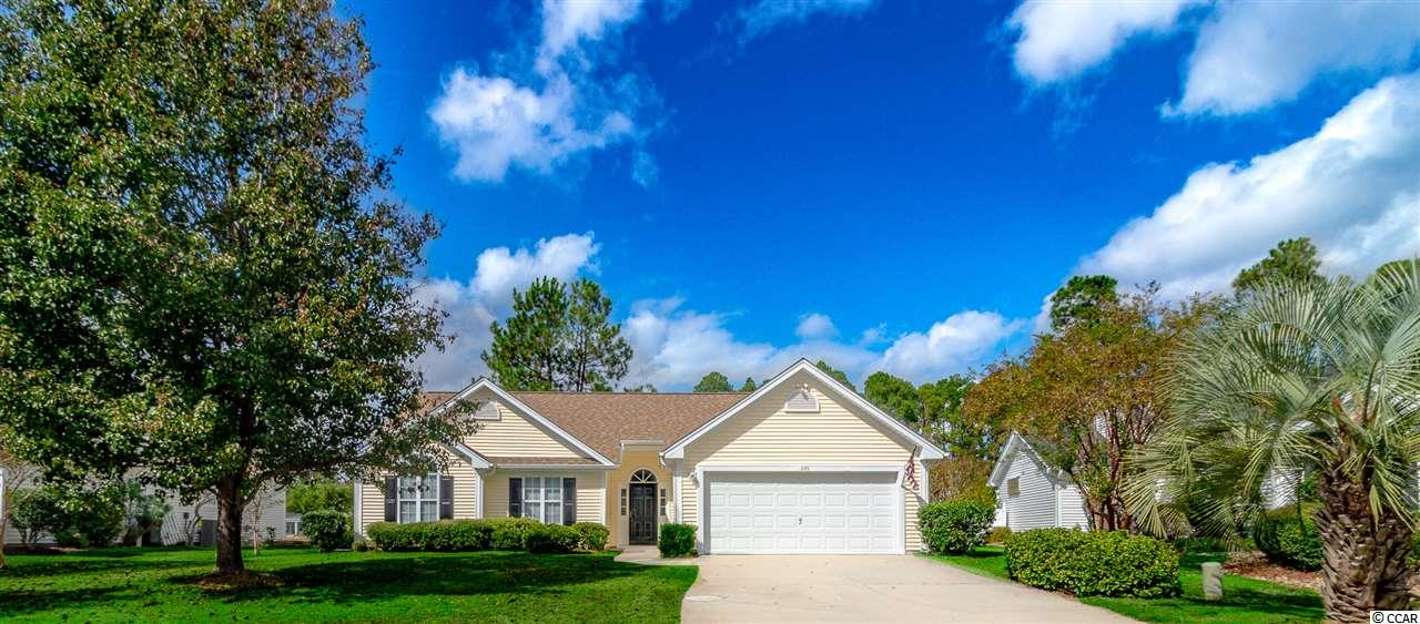 This beautiful 3 bedroom, 2 bath sits in a quite neighborhood and is located on the 16th green of the prestigious Myrtle Beach National Golf Course.  This home is like new. Freshly painted, new granite counter tops, ceramic tile floors and much more. This is a must see home.