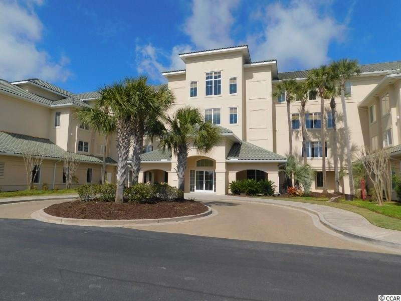 Fantastic upscale gated community located Barefoot Resort luxury condo complex Edgewater. The Sonoma floor plan offers over 1625 heated square feet with awesome views of the Greg Norman golf course from a large screened porch off the living room. Golf views are also seen from master bedroom and 2nd & 3rd bedrooms. New HVAC unit installed November 2018 with warranty. The owner has a transferable golf membership that can be purchased by the buyer. The unit is located on the 3rd floor making the unit very quiet and private. It is an open floor plan and has many windows to allow as much light as one wants. The dining room is spacious with a beautiful reverse tray ceiling. The kitchen is large offering a breakfast nook and breakfast bar and the appliances are in great condition. The master bedroom is very large and private with beautiful tray ceilings and two walk-in closets. The master bath is also spacious with whirlpool tub, shower and double sinks. The second bedroom is as large as the master with a vanity area and a large walk-in closet. The condo is in excellent condition with new paint and carpet. There is plenty of storage with a storage closet just down the hall and a U-STORE-U-LOCK UNIT in the garage area, which is big enough to hold a golf cart. There is assigned parking within a large communal garage. Edgewater owners enjoy use of a private club house offering meeting area, kitchen, fitness center and a large beautiful swimming pool and hot tub located directly on the inter-coastal waterway. There are also day docks to dock your watercraft. All owners in Barefoot Resort also enjoy use of a 15,000 square foot swimming pool and are members of the Barefoot Beach Cabana offering private beach access to the Cabana, great amenities and gated parking lots. A shuttle service is offered to and from the Cabana from Memorial Day to the end of October. Barefoot Resort also, offers four championship golf courses, driving range, full service marina, and four onsite restaur
