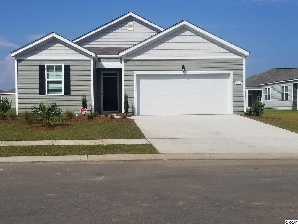 This SMART HOME is adorable 1 level open-concept MOVE IN READY JUNE 2019 Enjoy a large family room, private owners' suite, rear 2-car garage. We are the price-leader for single family homes in Market Common! Our home owners will enjoy a gracious pool, open air amenity center, pickle ball court, walking trails and a short golf cart ride to the beach. Live like you're on vacation! Photos of home are of a model home of same floor plan in another community and are for presentation only.