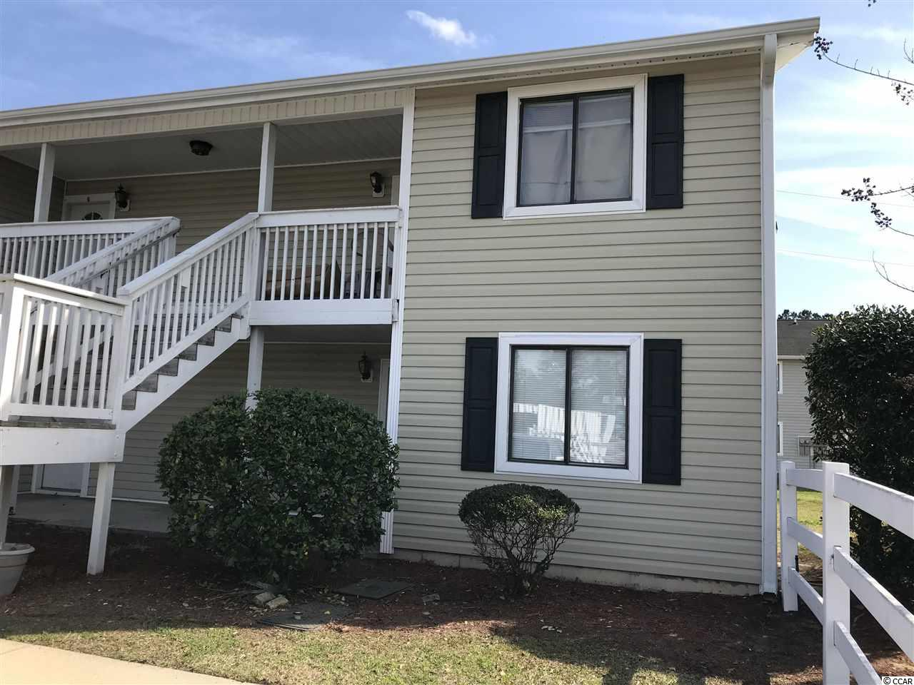 This 2 bedroom, 2 bath 1st-floor condo is centrally located near shopping, dining, Coastal Carolina University, Horry Georgetown Technical College, and healthcare.