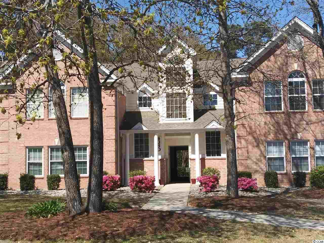 """This 1st floor unit is a great deal! Extra large master bedroom with walk in closet and additional storage in this unit. It backs up to wooded area so privacy is here. Original upgrades to appliances. Lots of potential, would make a great starter home, 2nd home or investment property. The unit is currently smoked in and is being Sold """"AS IS"""". The community allows for owner to have 1 pet, short (7 consecutive days) and long term rentals. There is on site clubhouse, pool, tennis courts and basketball court. This is a must see! All Measurements are approximate and should be verified by the buyer."""