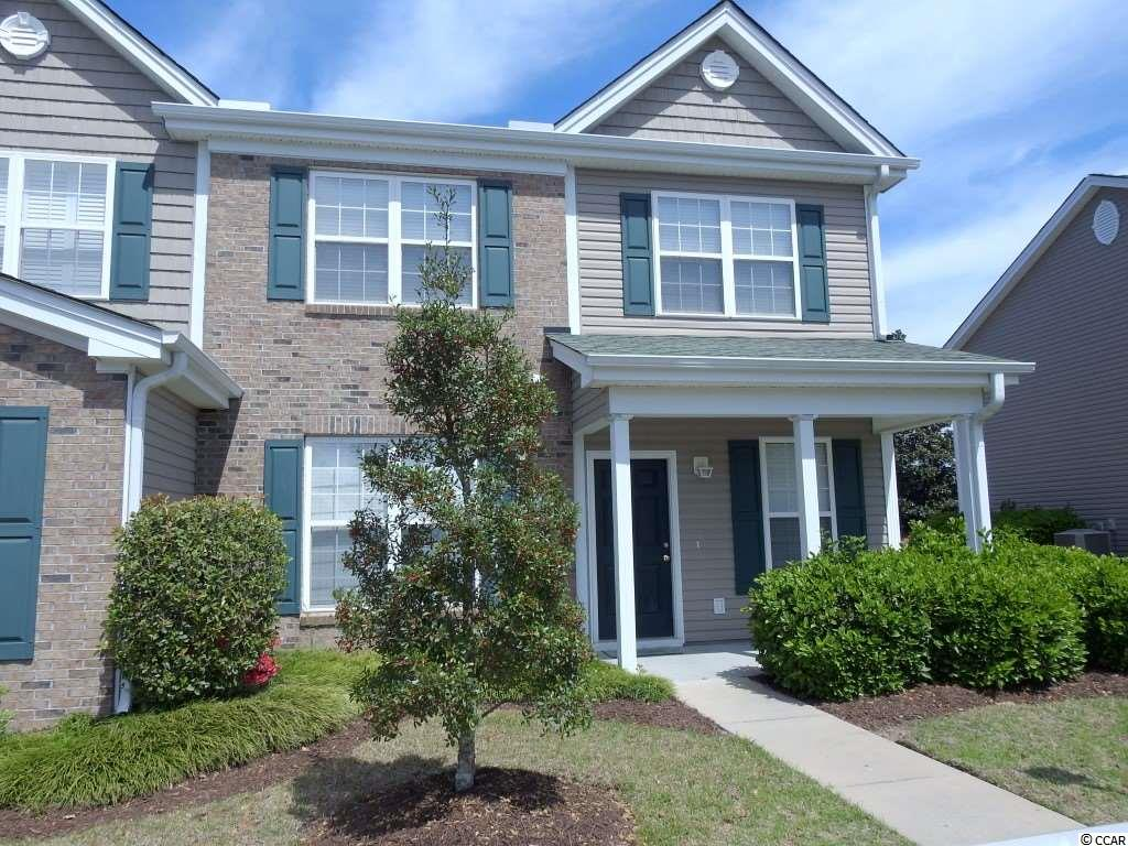 Move in ready three bedroom 2 1/2 bath end unit townhouse located in the Park West community in Murrells Inlet. This townhouse had been fully painted and all new carpet upstairs and down. The master bedroom and master bath is located on the first floor and has a large walk-in closet. The first floor offers a open floor plan, spacious living room, kitchen and a formal dining room for entertaining. In your living room you have a wall of windows giving an abundance of natural light. Upstairs there are two more bedrooms and a full bath. There is also a large loft area that can be used as a TV room, game room, etc. there is also another large room that could be used as an office or storage space. This townhouse also offers a patio and outside storage room. This is a great location just a short stroll to the community pool, close to the beach, dining, entertainment, golf and plenty of shopping. Set up a showing today!!