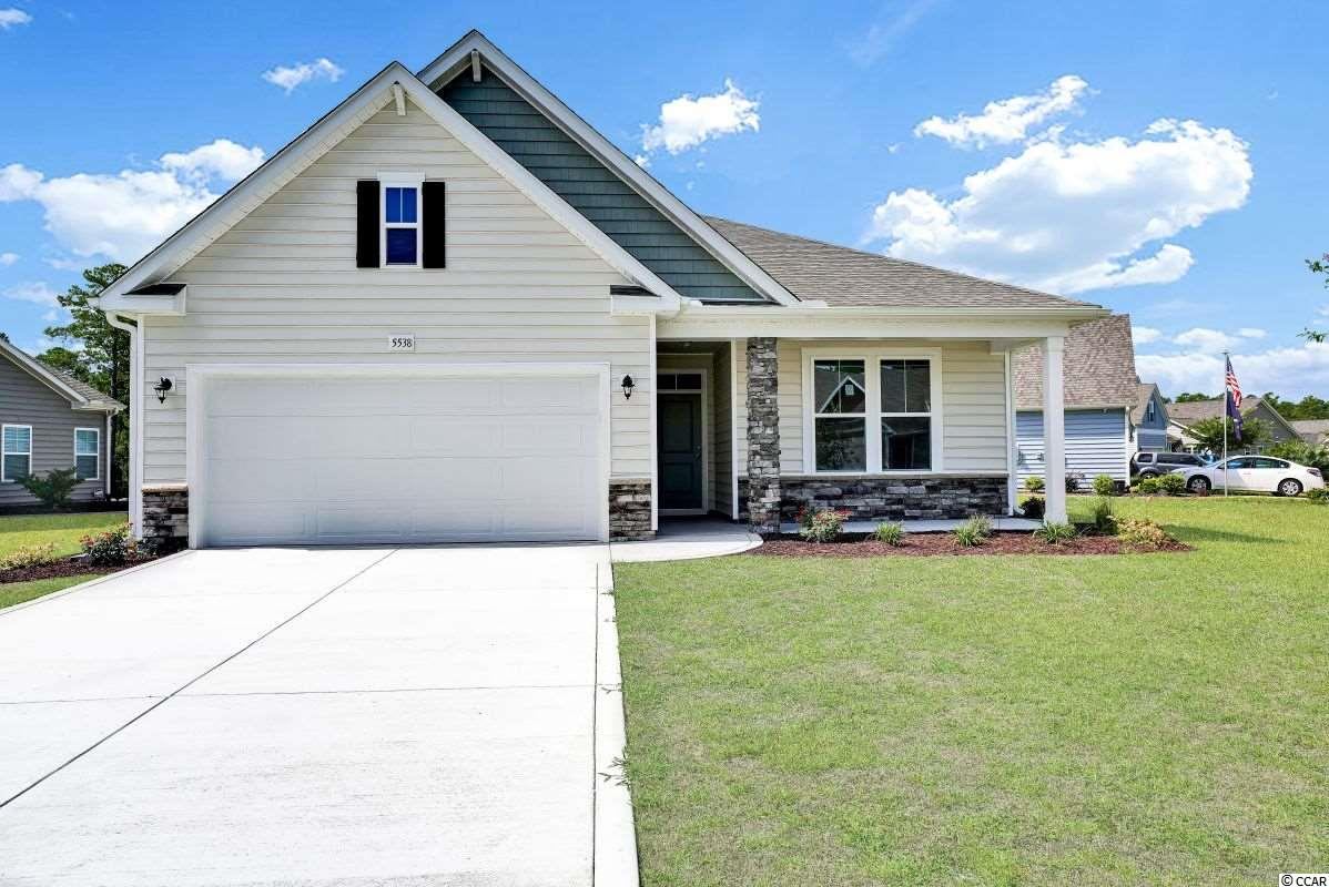 **HUGE PRICE REDUCTION** PLUS CRAZY 8 INCENTIVE FOR LIMITED NUMBER OF INVENTORY CONTRACTS ACT FAST!  ASK AGENT FOR DETAILS!  This brand new Harmony plan very functional in one level living. It offers  flexibility of a 3 bed 2 bath with study or formal dining room. Come in through the large open foyer and to one side you have bedroom bathroom and to the other you have optional mudroom walking in to the laundry room plus another bedroom.  The spacious Kitchen opens to the great room with large Island Bar with overhang for seating.  Off the kitchen is Casual Dining Room to the back of the home.  Huge Master Walk-in Closet.  All of this plus Front Porch & nice sized rear Covered Porch offering privacy directly in the middle of home.  As a Brookberry resident you have full access to The Farms 2 resort-style pools, clubhouse, fitness center, basketball court, and a playground. All this plus access to the Atlantica beach club.  The Most convenient Location Central to all the Grand Strand in the Award Winning School District of Carolina Forest.