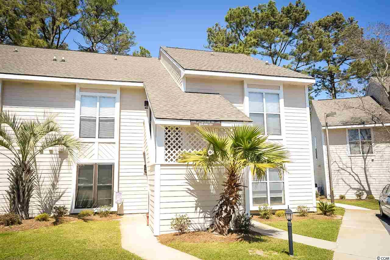 Spacious, 1 bedroom, 1 bathroom, first floor end unit with great pond views. Tile floors, open floor plan, large living room, community pool, well-kept grounds and tennis courts. Little River Inn is in a convenient location in Little River close to North Myrtle Beach.