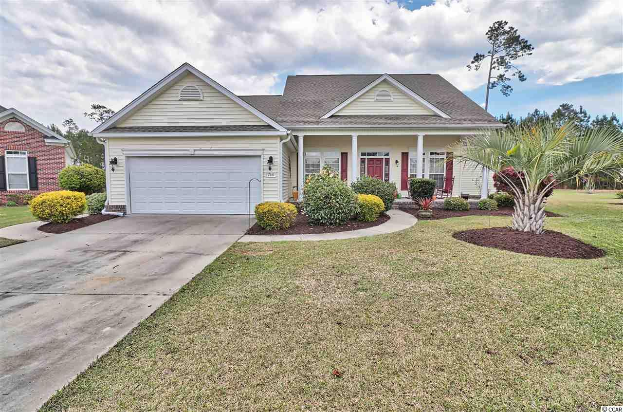 Now is your chance to own this beautiful home in the sought after Murrells Inlet community of Laurel Bay. This private home is within a 24/7 gated community with security. Sitting on a cul de sac with nearly half of an acre of land! Private backyard with tree line view and custom landscaping! The large open floor plan and split bedroom plan is great for guest and entertaining. Over sized kitchen and work island for the chef in the family! The Carolina room offers full views of the private backyard. Enjoy one of the many community amenities from 2 pools, tennis courts, basketball courts and walk/bicycle trails. Meet the neighbors at one of the many community events at the club house! Contact now for you're private showing!
