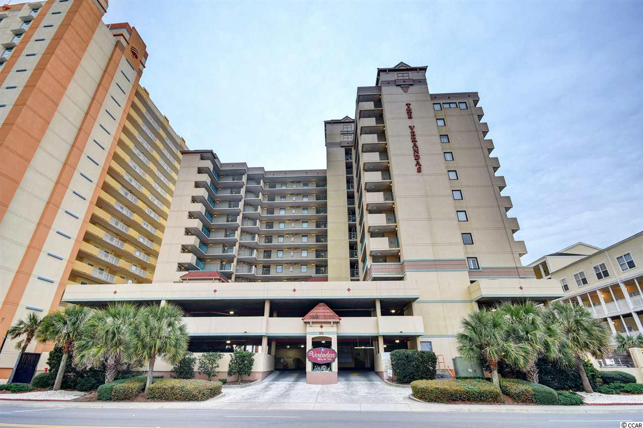 This Recently Updated, Two Bedroom, Ocean View Condo located in North Myrtle Beach is a MUST SEE!!! The unit has BRAND NEW Engineered Hardwood Flooring for Easy Clean Up and a Fresh New Look.  You will LOVE Entertaining in the Spacious Living/Dining areas while viewing the Amazing Atlantic Ocean. The kitchen comes equipped with all your major appliances for cooking in and a breakfast bar area for dining. You and your guests will enjoy relaxing while viewing the Ocean and Beach from the 3rd floor balcony located off the living room and master bedroom.  The split bedroom plan allows for privacy after a long day of soaking up the sun along our Gorgeous Beaches.  The master bedroom boasts Wonderful Ocean views along with a large en suite bathroom. The master bathroom has a double sink vanity area and a large tub.  This resort offers an outdoor pool, hot tub, and lazy river for relaxing and cooling down from the summer heat. The Verandas at NMB is located right in the heart of North Myrtle Beach within walking distance to the Cherry Grove Fishing Pier and Main Street at Ocean Drive. This area has some of the Best Dining, Shopping, and Entertainment Spots for ALL Ages. Come View Today, and Make this condo your home away from home, a great investment opportunity, or primary home along the Grand Strand.