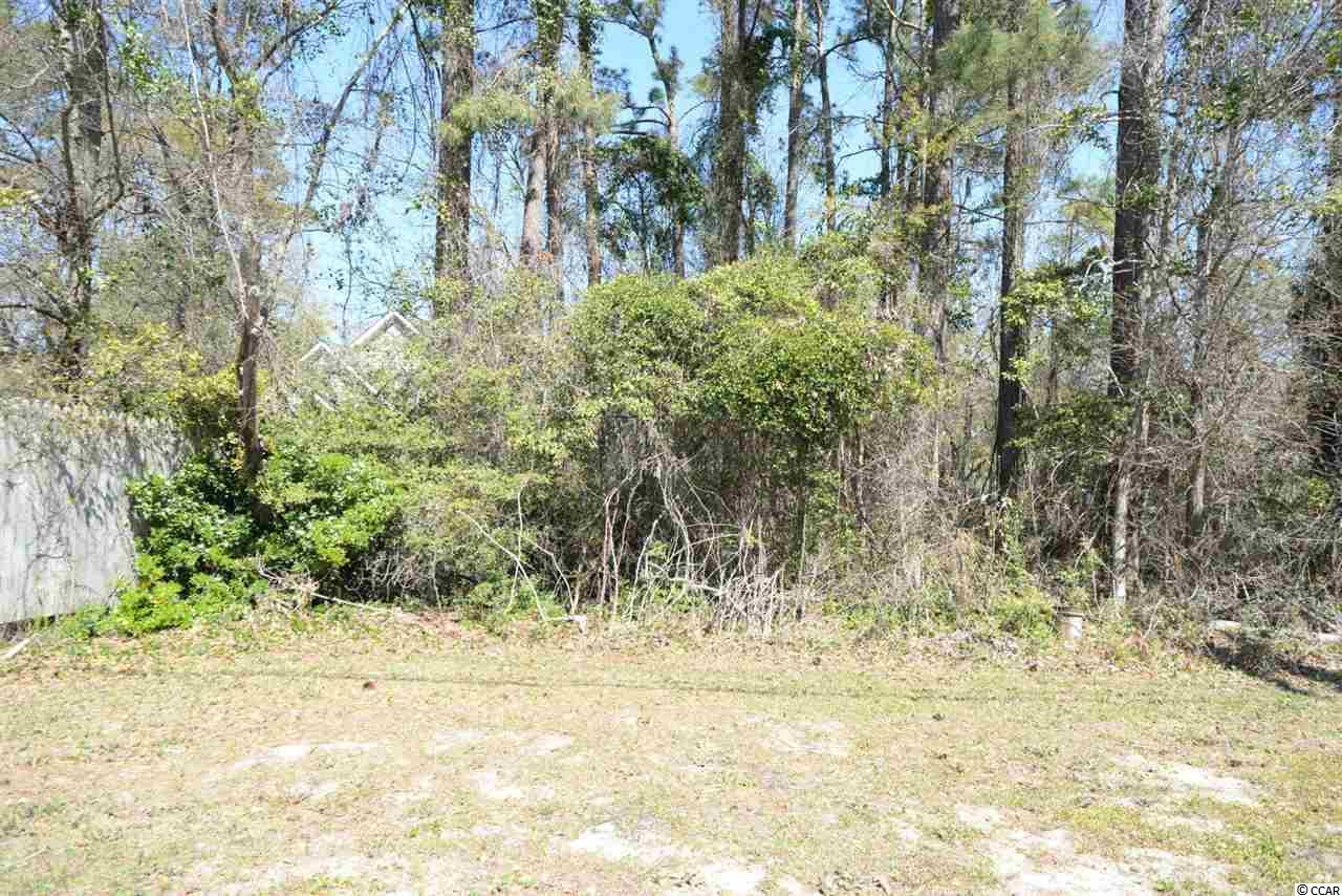 Large lot east of 17 near the Intracoastal Waterway in North Myrtle Beach. Great location on Little River Neck Rd.