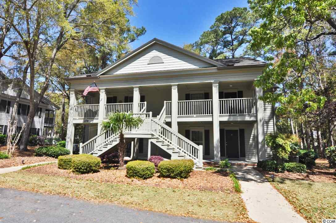 """Great find for a great price in Weehawka Woods of Pawleys Plantation! This two bedroom ground floor condo has a one bedroom lockout as you enter the foyer/laundry area, and a bedroom, living space, kitchen, and screen porch on the main section of the condo. The screen porch is equipped with a ceiling fan and Eze-Breeze windows to keep the pollen away and also to make this space a three season room. Weehawka Woods is in the private, gated golf community of Pawleys Plantation! While overlooking the low country oak trees and inlet marshes, this signature 18-hole golf course designed by Jack Nicklaus is a one of kind. Golf and social membership packages including an outdoor pool, tennis, clubhouse and restaurant are available at additional cost. However your HOA's include access to your own community pool for Weehawka Woods. This is a bank owned property. Neither seller nor any person acting as seller's representative has occupied the property nor neither warrants or represents that the property or any alterations or additions, which may have been made to the property, conform to local building codes, zoning requirements or any other applicable laws, rules or regulations. The property is sold in """"as is"""" condition. Seller will not provide a survey, property condition inspection, homeowner warranty or certificate of occupancy. HOA information/verification and square footage are approximate and the responsibility of buyer and buyer's agent to verify both."""