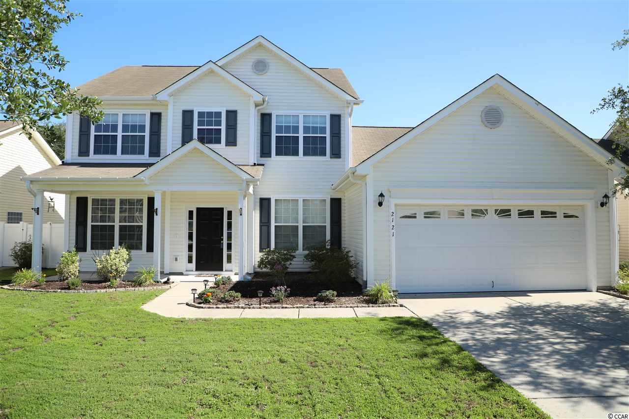 This spacious 4 bedroom, 2.5 bath home located in the heart of Carolina Forest in the sought-after Avalon subdivision is a MUST SEE! This turn-key home offers a large kitchen equipped with stainless steel appliances, granite countertops, a wet bar and plenty of cabinet space. The open floor plan is accentuated with cathedral ceilings, a carolina room and a formal dining room. The master suite is accompanied by a large master bath featuring a soaker tub, stand-up shower, dual vanities and a walk-in closet. The Avalon amenities center includes a large pool, clubhouse, playground, baseball and soccer fields, basketball courts, beach volleyball and much more! Don't miss your opportunity to view this immaculate home located within 15 minutes of all that Myrtle Beach has to offer.