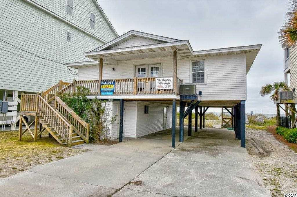 Fantastic 4 bedroom 2 bath home located on the oceanfront in the Cherry Grove section of North Myrtle Beach. A great home for entertaining family and friends. Relax and enjoy fabulous sunrise and sunsets over the ocean from the oceanfront balcony. Fully equipped kitchen, large spacious living area and dining area for entertaining. Close to all the area has to offer, dining, shopping, entertainment, golf and the Cherry Grove Pier. Don't miss the opportunity to make this home your very own ocean front retreat!