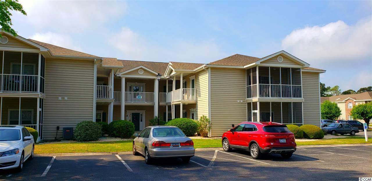 This 2br/2ba almost 950 htd sq ft first floor condo is move in ready. This is an end unit with easy access to parking lot right up front. Very friendly residents...truly a home away from home. Located in the Sweetwater Community in the Murrells Inlet area. There are multiple pools throughout this community including a tennis court. You have easy ingress and egress onto Bypass 17. Just minutes away from Garden City beaches and pier. Hospital and Murrells Inlet famous seafood just a few miles south.
