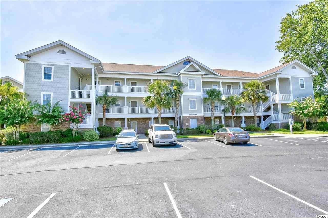 Come enjoy this 3 bedroom 2 bath condo located in Ironwood in Barefoot Resort. Unit is a TOP floor END unit which offers high ceilings and extra windows for lots of natural light! Sit out on the screen in porch and take in the view of the Intracoastal Waterway and golf course! Barefoot has many amenities including an ocean front cabana for owners with private parking, pools and shuttle service during summer months to and from the ocean! Come enjoy the BAREFOOT LIFESTYLE!
