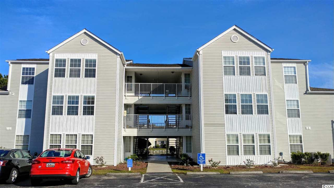 Southbridge is a centrally located condo community perfect for your primary or second home or investment property. Just minutes away from the beach, golfing, the Marshwalk, Market Common, great restaurants and many other Myrtle Beach attractions. This 2 bedroom, 2 full bath, 2nd floor, end unit is fully furnished, including the washer and dryer, with an open floor plan and Carolina room. It is move-in-ready. All you need are your clothes and toothbrush! Enjoy the community pool, clubhouse, recreation area or just relax by one of the lakes! Square footage is approximate and not guaranteed. Buyer is responsible for verification.