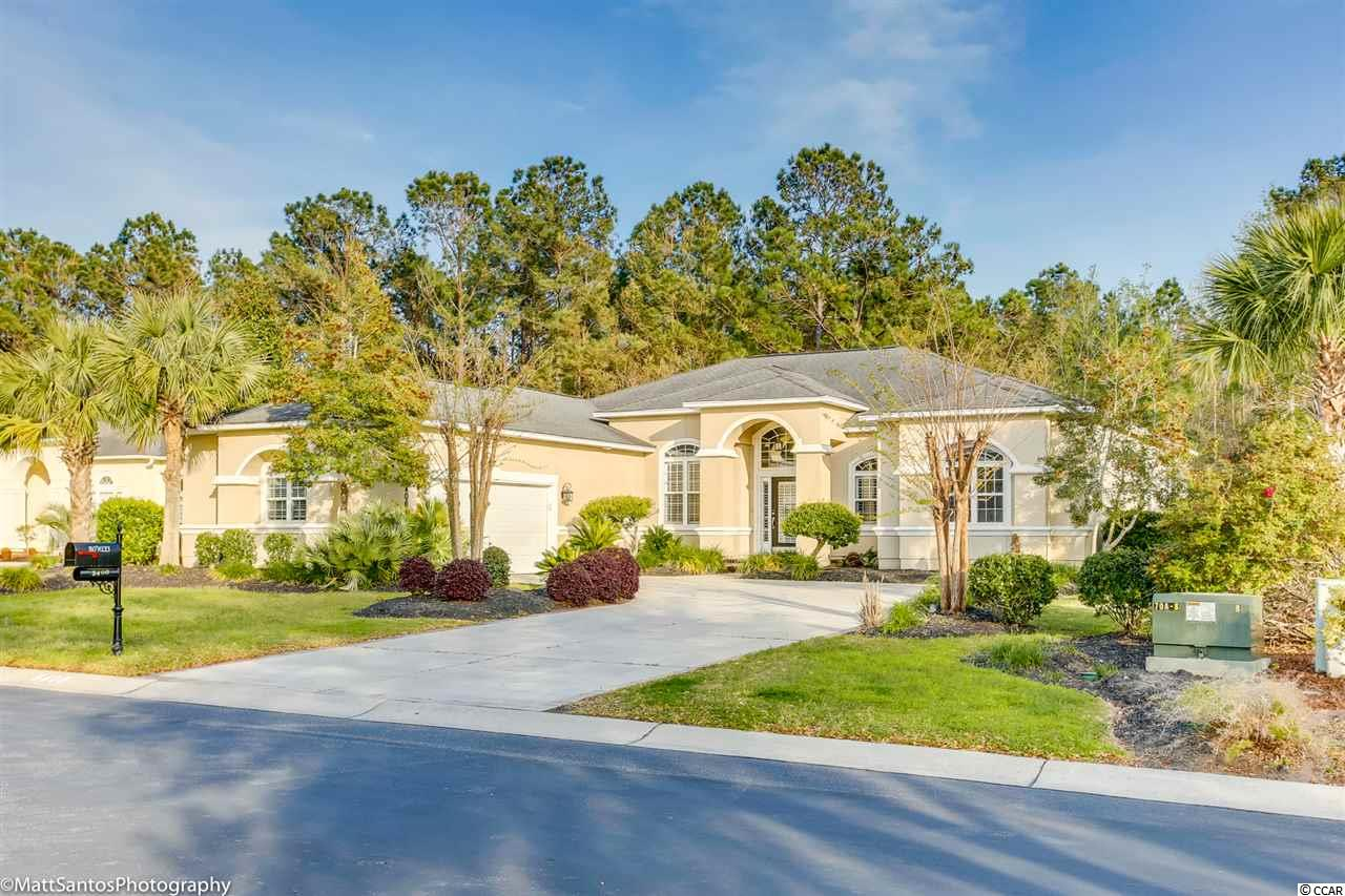 Looking for your dream home?...Well look no further! This beautiful move in ready 4 bed, 3.5 bath located in the Leatherleaf section in the sought out neighborhood of Barefoot Resort! With the wide open floor plan there is plenty of room for all of your friends and family to come and visit! The living room boasts a fire place with build in bookshelves on either side, the perfect place to store your favorite books, or show off the many memories you have caught on camera!They say that the kitchen is the heart of the home and with this home it holds true, with the kitchen island, breakfast bar , and breakfast nook no space was wasted for your family to gather around and talk about the daily plans! The master suite had gorgeous hard wood floors throughout, along with a beautiful tray ceiling, and windows all around! It has its very own on suite master bath with an over sized tub and walk in shower! Even with all of the space in the home, with a back yard like this you may never want to stay in! Once you make your way out back not only is there more than enough room on the screened in porch but bench seating that leads you to your very own outdoor paradise! Host the best parties with your lounge area including a wood burning fire place, built in grill, and sink! You do not want to miss this home, so do yourself a favor and book a showing today!!