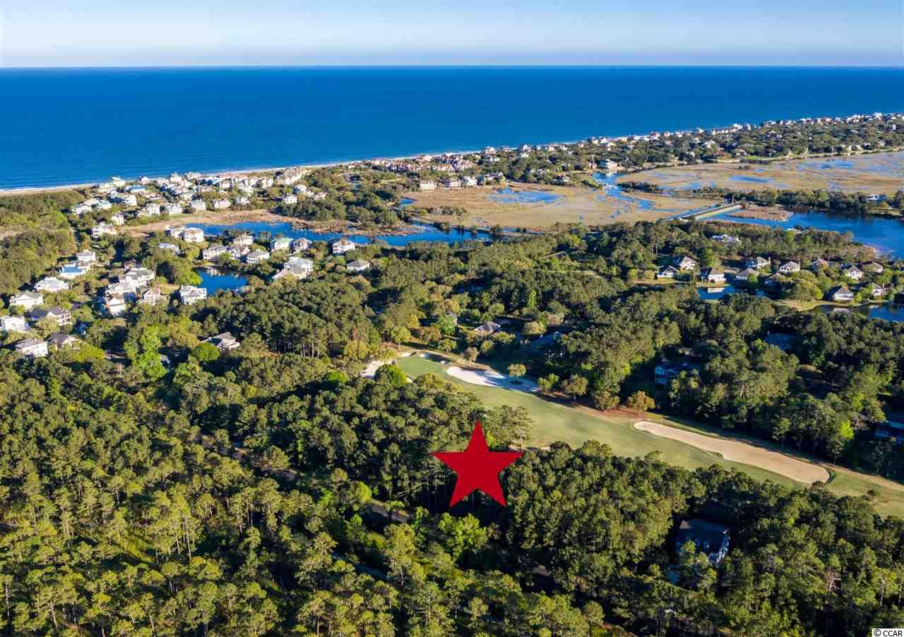 DeBordieu Colony - Lot 320 Wallace Pate Drive is located just a short golf cart ride to the DeBordieu Beach Club! Build your dream home on this beautiful half acre lot with high elevation overlooking #7 Green of the Pete Dye Golf Course at DeBordieu Club. You can hear hear the ocean from here! Dimensions of this near beach, wooded lot are 100 x 250 x 100 x 258.  DeBordieu Colony is an oceanfront community located just south of Pawleys Island, South Carolina featuring private golf and tennis, saltwater creek access to the ocean, a manned security gate, and luxury homes and villas surrounded by thousands of acres of wildlife and nature preserves. There's never been a better time to consider building a home at DeBordieu Colony. Come see for yourself!