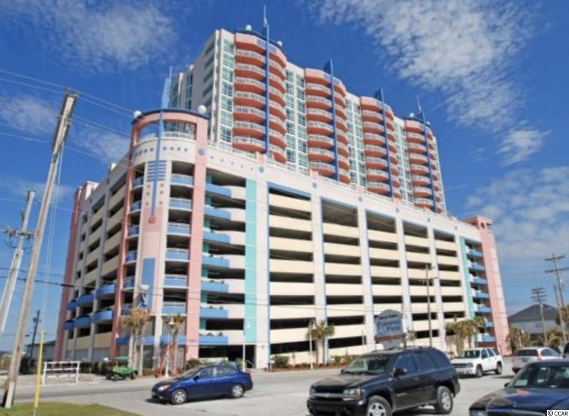 This Prince Resort 2 bedroom 2 bathroom luxury unit has one of the best views in the building. Enjoy waking up in your oversized master bedroom with the crashing waves of the Atlantic ocean just out side your door.  Spend your days lounging by the many pools Prince Resort has to offer, fishing from the Cherry Grove Pier or relaxing by the shore.  This unit is fully furnished in a beautiful beach theme.   HOA includes all utilities and insurance