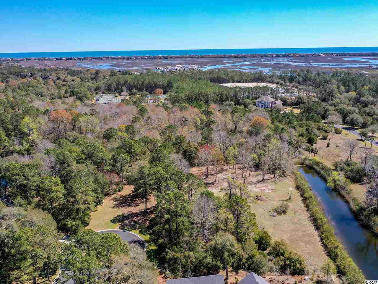 Located in prestigious Debordieu Colony, this wooded lot providing over an acre of privacy on a cul-de-sac may be the perfect location for your dream home.  Recently cleared, it is in close proximity to the Tennis and Fitness centers as well as the Community Boat Landing.  Other amenities of DeBordieu Colony, a private 2700 acre community, are only minutes away...Championship Golf, miles of secluded beach, bike paths and walking trails, salt water creeks, two pools with Gazebo Bar as well as fine or casual dining at the Clubhouse and/or Beach Club. Drive time from the security gate to the 6000' runway at Georgetown County Airport is approximately 20 minutes.  Historic Charleston and Myrtle Beach are about an hour's drive south and north respectively.