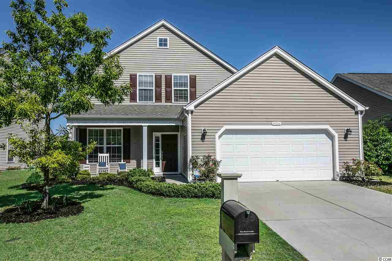 Don't miss out on one of the lowest priced homes in desirable The Farm community. As you drive up this property welcomes you home with a rocking chair worthy front porch. The main level has a spacious family room, half bath, main level bedroom with a full bath that could be used as a main level master suite. The kitchen features beautiful cabinetry with crown molding, a pantry and eat-in dining area. Under the stairs is a huge storage closet. Off the kitchen is a 12 x 8 screened-in porch overlooking the large fenced backyard with a playground and patio for grilling. Upstairs you have a second master suite with dual closets and a large master bath featuring double sinks, shower, garden tub and private water closet. You have plenty of space with 2 more bedrooms upstairs both with large closets and another full bathroom. The 2-car garage has pull down attic stairs that has some flooring for extra storage. The tastefully landscaped yard has a lawn irrigation system. Home is nicely situated in a low traffic cul-de-sac. Enjoy the amenities The Farm has to offer with 2 resort style pools, clubhouse with gym, basketball courts, new playground, community events and the award winning schools close by. Easy access to International Dr, Hwy 31, grocery stores, medical offices, hospital, Broadway At The Beach, the new Top Golf and the beautiful beaches of Myrtle Beach. Come Live Where You Love To Be! Square footage is approximate and not guaranteed. Buyer is responsible for verification.