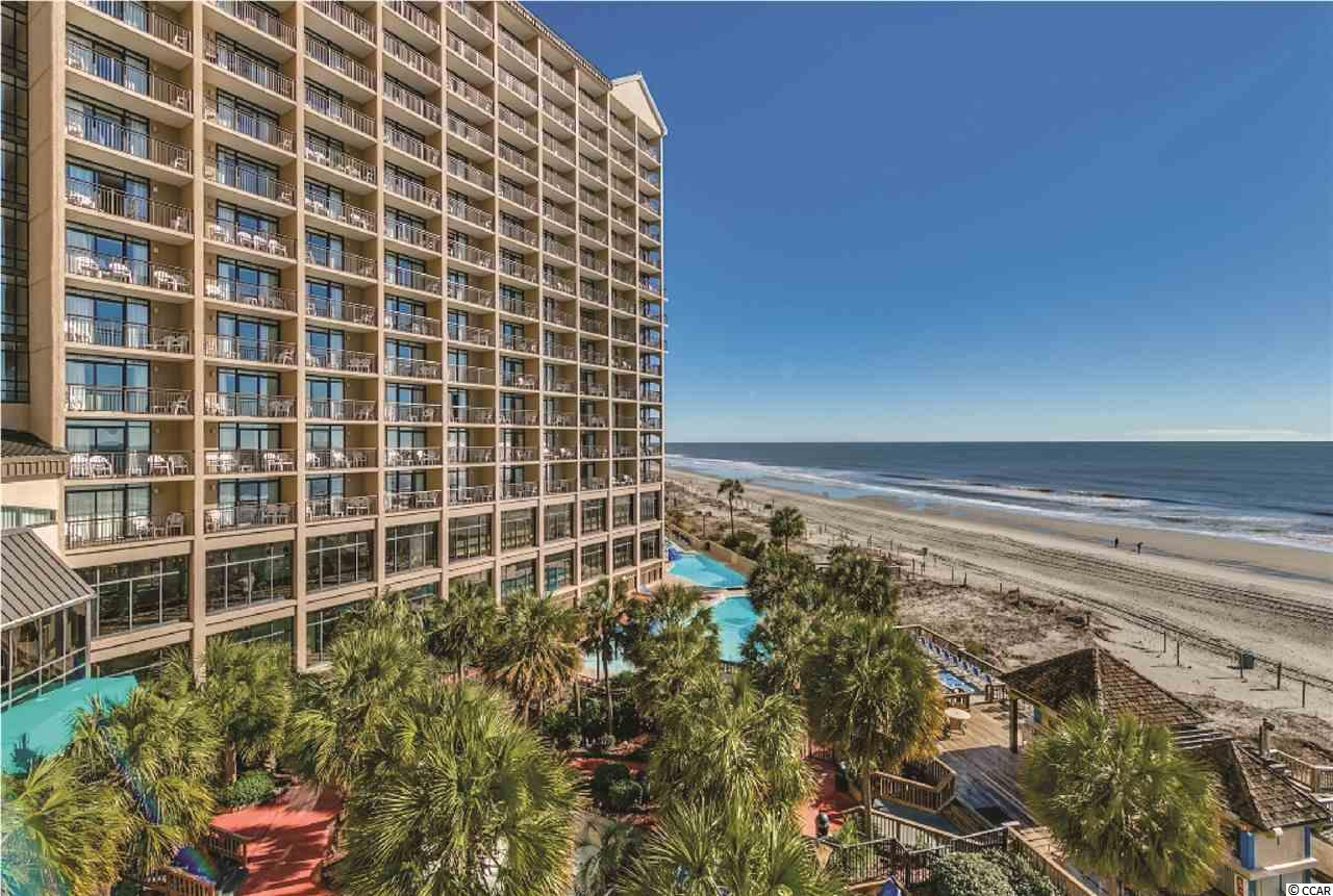 Beautiful ocean front condo located at the luxurious Beach Cove Resort. Whether you are relaxing in the room, or sipping coffee from the balcony, this 1 bedroom, 1 bathroom unit boasts immaculate views of the Atlantic Ocean. Enjoy views of the pools, amenities, and gorgeous landscaping from your balcony! Beach Cove Resort is located in the highly sought after Windy Hill section of North Myrtle Beach. The resort is nestled into the corner of 48th Avenue South Across from the shops and entertainment venues at Barefoot Landing. Beach Cove offers amenities for everyone; multiple outdoor pools, indoor pool, hot tubs, heated outdoor pool, oceanfront workout center, game room, ocean front bar and grill, conference rooms, and much more! A must see.