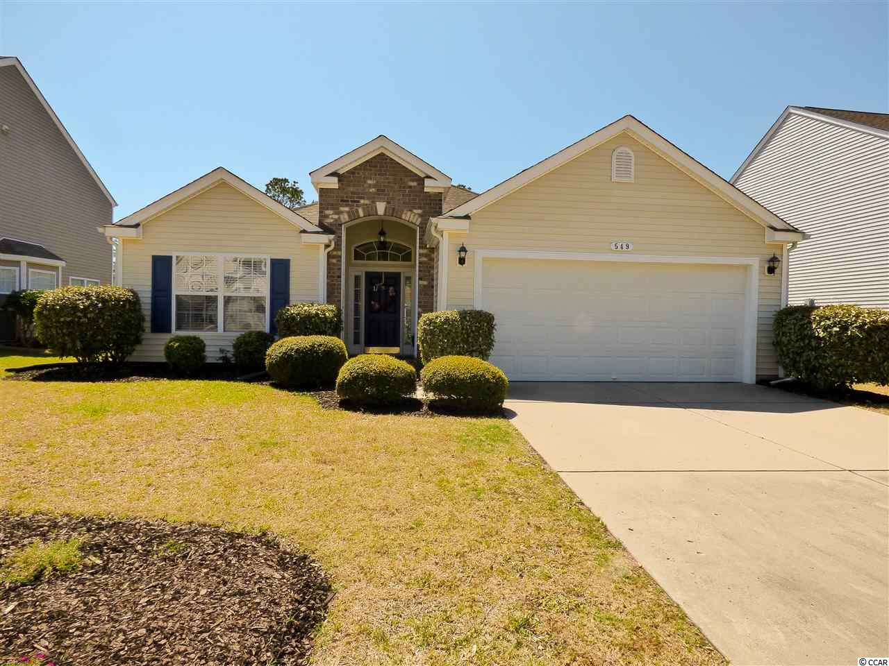 Fantastic move in ready 3 bedroom 2 bath home in The Farm. Open and spacious Eaton floor plan with brick accents and large Master Suite. Upgrades include stainless appliances, ceiling fans throughout, covered Lanai,and a fenced in private backyard overlooking a lake and wooded preserve area. Community amenities include an 8,000 square foot pool overlooking a lake, a large playground area, and basket ball court The clubhouse offers a large area for social gathering as well as a fitness center and ping pong tables. Just minutes to all the area has to offer, beach, shopping, dining, golf, entertainment and more.