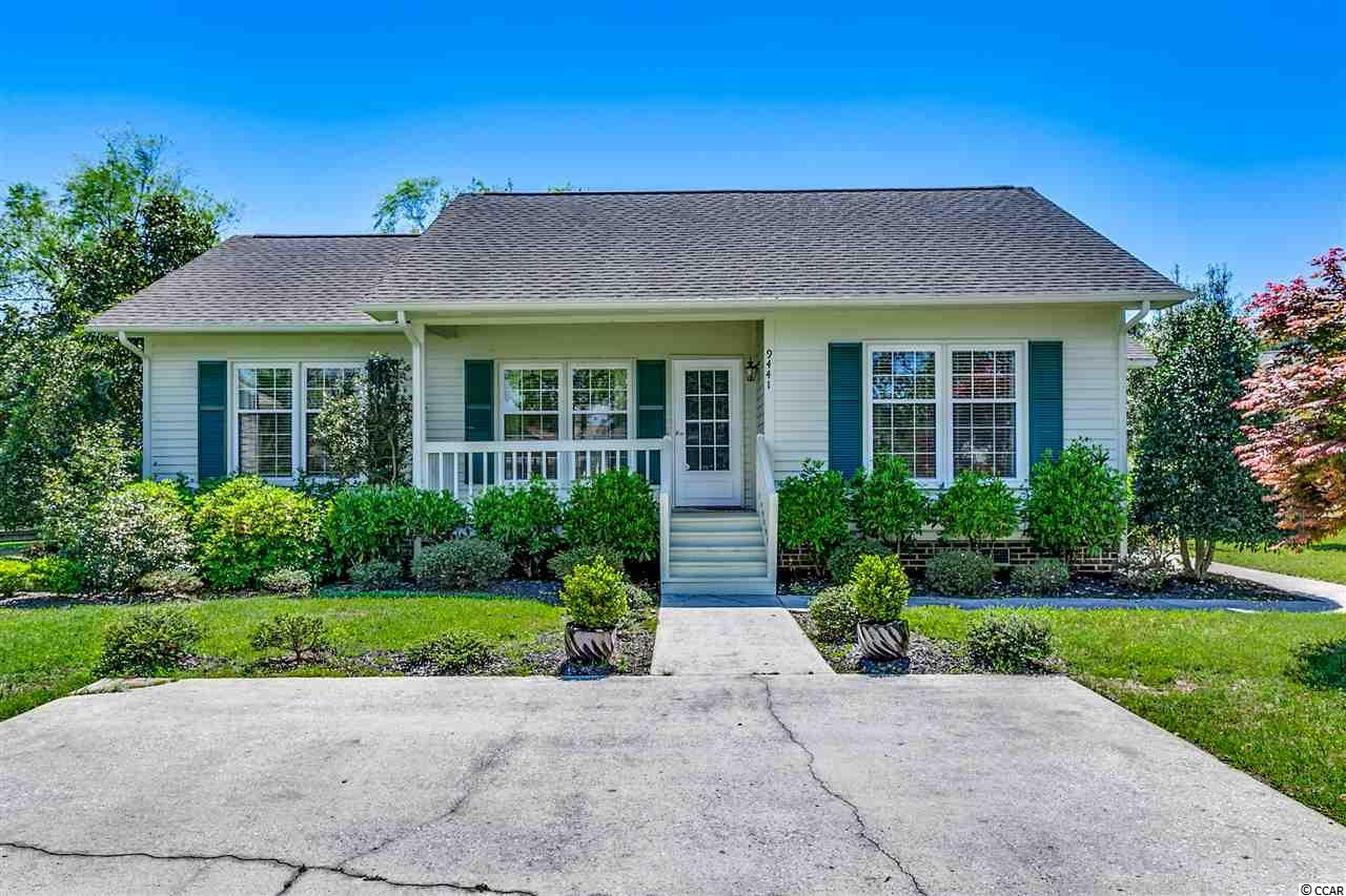 Rare opportunity to own in the charming 55 and older Spring Forest community located in Murrells Inlet. This move in ready 2 bedroom 2 bath single level home features tons of exterior and interior storage and a spacious all season room overlooking the tranquil lagoon. Enjoy the Spring weather from one of the several porches. Spring Forest is a gated community featuring a 5,000 square foot clubhouse where owners can gather for activities, and social events. The amenities boast a spacious pool, library, full kitchen, billiards, and game room. Located close to Garden City Beach, shopping, dining, boating, the Murrells Inlet Marshwalk, Huntington Beach State Park and Brookgreen Gardens.