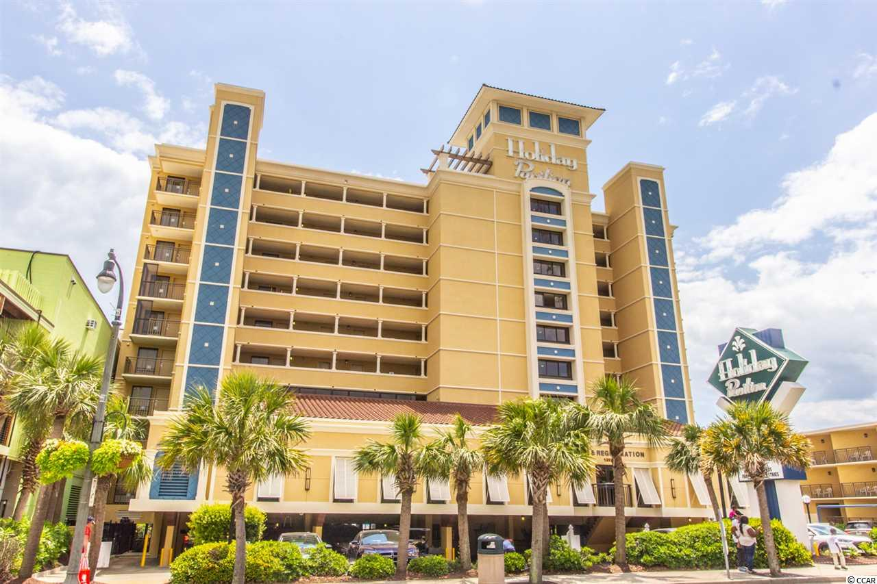 Owner may consider owner financing..Nice Ocean Front pent house corner unit 1BR 1BA at the Holiday Inn Pavillion. Holiday Pavillion was recently renovated. Sit out on the balcony and enjoy the beautiful views of the Atlantic Ocean. Enjoy onsight amenities for the entire family. Close to the SkyWheel and everything the Grand Strand has to offer. Close to the Boardwalk, SkyWheel, restaurants, Broadway at the Beach, Golf and entertainment.  This condo is priced to sell. Make this your 2nd home or investment property.