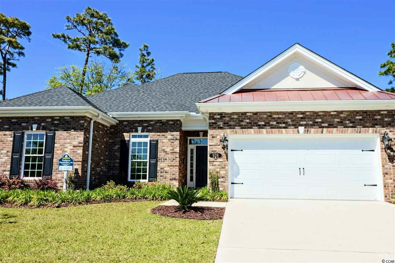 Brand New and Waiting For You! Cipriana Park at Grande Dunes, one of the finest locations and neighborhoods along the Grand Strand. Lovely all brick homes with lush landscaping for perfect curb appeal. Inside see The Cypress plan, our most popular, open and bright, attention to every detail and what beautiful details. 3 BD/2 Bath, 2002 heated square feet with large covered porch added and 2 car attached garage. From your new home you are a 10 minute golf cart ride to our private Ocean Club, Marina and Tennis/Fitness Club, not to mention 4 food store, 3 banks, 20 restaurants, shopping and the hospital and medical services. Remember, that said all within 10 minutes on a Golf Cart.