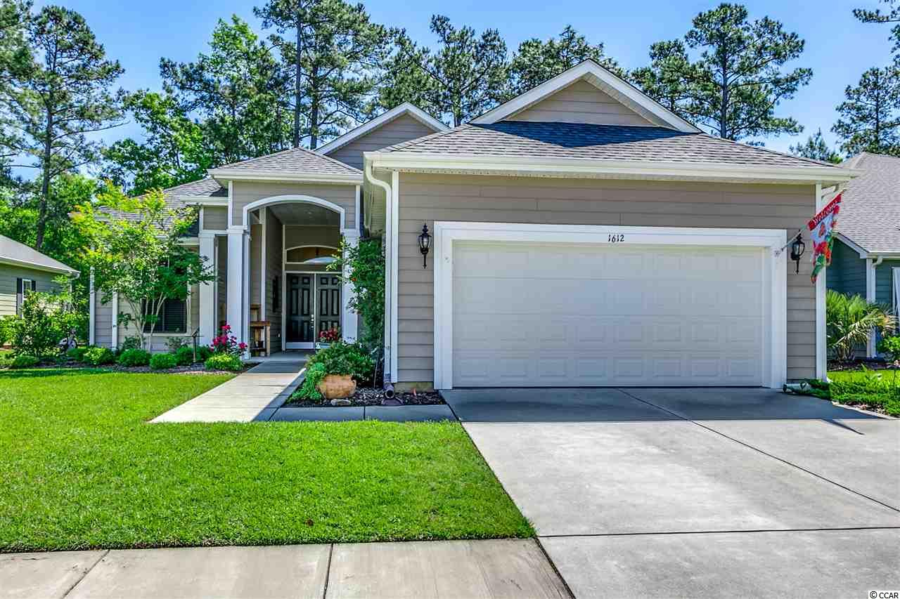 """This 55+ community located in Murrells Inlet offers the active lifestyle and opportunity to easily make new friends! Grand clubhouse with room for large gatherings, arts,crafts,pool tables, card rooms, state of the art fitness center, tennis courts, horse shoes,bocce, indoor and outdoor pools, indoor and outdoor kitchen and fireplace. Add to this the many planned activities including travel club, book club, group dining at favorite local restaurants, golf groups and so much more. Plenty of time to enjoy since all lawn maintenance is included in your HOA. Basic cable, internet, security system, garbage pickup, and amenities are also offered in your HOA in this gated community in Prince Creek. This ever popular La Quinta floorplan features a 13.5 'x 21' owner's suite with tray ceiling, sitting area,  double closets, walk in tile shower, separate vanities and two linen closets along with a 3rd in the guest bath. This split bedroom design with guest room and office/3rd bedroom includes a jack and jill bath setup. A spacious kitchen with stainless appliances, granite counters, natural gas range a 5'x5'  walk in pantry plus overflow pantry storage is convenient to a 11 x 11.5 breakfast room plus extended breakfast bar and  large formal dining room all opening to the great room.  The 10' x 34' all seasons porch enhanced with 20"""" diagonal tile flooring  adds an additional 340 square ft of year round living space and overlooks Blackmoor Golf Course. Enjoy grilling and relaxing on your 12.5 x 16' stamped concrete patio while admiring  a variety of beautiful perennials lovingly planted and maintained by the proud owner. This one owner home is immaculate and ready for quick occupancy.   The  garage has been extended by 4' and is 20.5 x 26' allowing room for a refrigerator ,workshop or extra storage. A tankless natural gas hot water heater and gas heating system add to the energy efficiency of this beautiful home. All kitchen appliances (not wine cooler)  ,washer ,dryer, blinds """