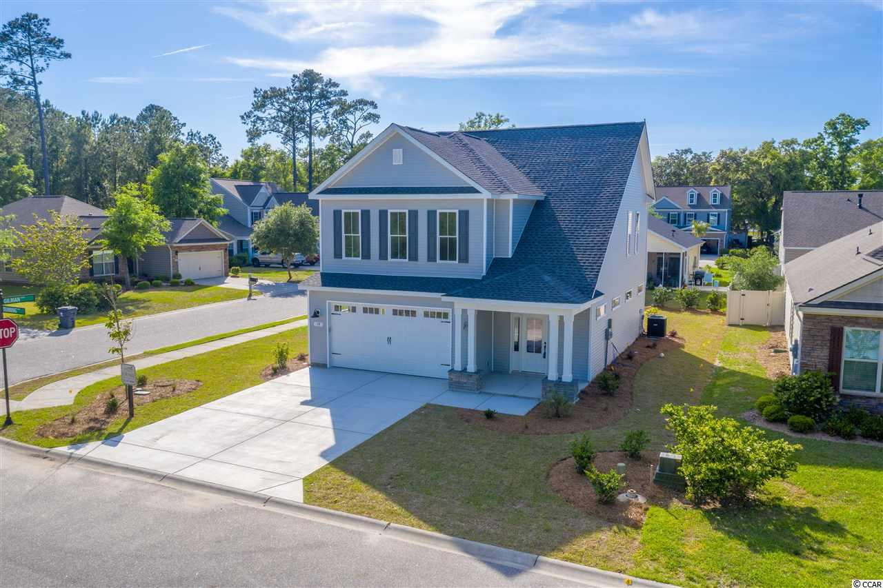 New home in a great location. Bridges of Litchfield is conveniently situated on the Litchfield end of Pawleys, with walking distance to tennis, Healthpoint, restaurants, & retail. This new home boasts some extra details and will be on top of your list. Check it out today!