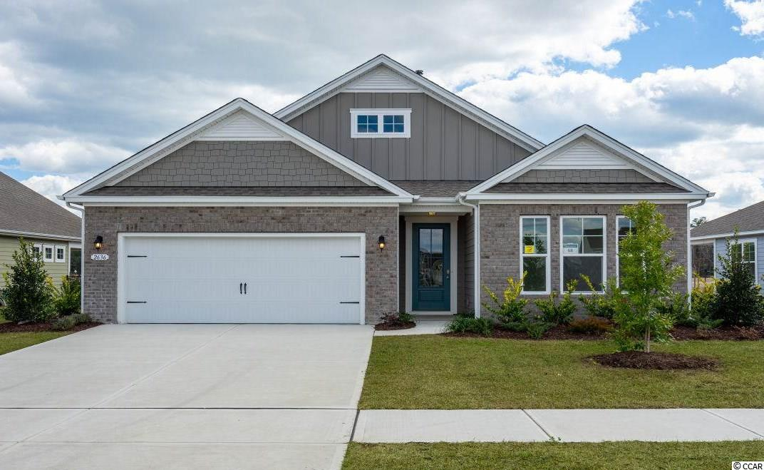 "READY JUNE 2019!!   This ""SMART HOME"" is connected!!! Lock or unlock your doors, control the temperature of your home and see who is ringing your door bell, all from your smart phone! This is one of the many features this home offers! Outside of home has a luxury feel with Hardie Board siding and often Stone accents.  Enter this 1-story home through an 8' 3/4 light glass front door into the large foyer.  The guest room is private at the front of the home. The home has many possibilities with a clarge ""flex room"" that can be used as a 3rd bedroom , office, den or formal dining room. The Bradford home offers the popular open-concept kitchen, living and dining rooms!  Oversized granite counter height kitchen island, perfect for entertaining, overlook the family room and dining rooms that come with hardwood floors and, crown molding and 5"" baseboards.  The spacious kitchen offers stainless appliances (including gas stove), tiled backsplash, plenty of cabinet and counter space with a large walk-in pantry.  Huge owner's suite in the back of the home with a great size owner's bath that offers double bowl vanity, 5 ft. walk-in shower, soaking tub and large walk-in closet. Sliding doors off the dining area lead to the 8 x 12 covered porch. Home has beautiful hardwood flooring in living areas, tile in bathrooms and laundry, crown molding and tall baseboards. Natural gas neighborhood!   The Summit at Meridian is a new community and will offer 200-300 new homes, featuring 11 floor plans both ranch and two story homes. Our home owners will enjoy a gracious pool and hot tub, air conditioned pickle ball court/meeting space, walking trails, and a short golf cart ride to the shops and dining in the Market Common area and the beach. Live like you're on vacation!    Photos of home are of a model home of same floor plan in another community and are for presentation only.  This home is to be built and can be ready for closing in summer 2019."