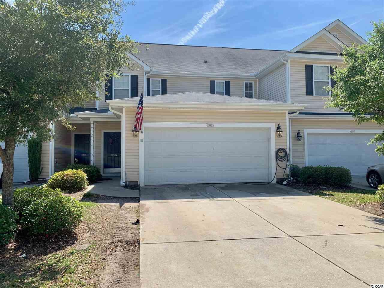 Fantastic investment opportunity in this spacious 3BR/2.5BA townhouse located close to university, Conway Medical Center, golf, shopping, restaurants & so much.  This floorplan features master bedroom on first floor 2 large bedrooms upstairs as well as loft area. HVAC system was replaced in 2018. Square footage is approximate and not guaranteed.  Buyer is responsible for verification