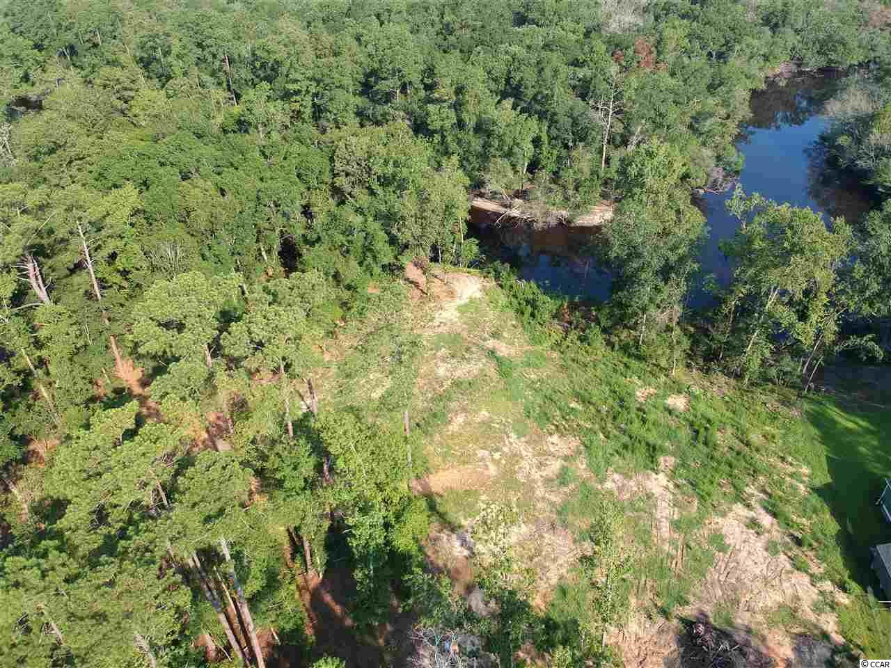 1.35 acre River Lot, Waccamaw River, no HOA or build time.  NOT IN A FLOOD ZONE, high and dry, cleared ready to build on. Have you ever imagined how great it would be to walk out your back door, jump into your boat and cruise off towards your favorite fishing hole? How about sitting on your dock with your friends. Well then this is the perfect lot for you to build your dream home. High elevation with panoramic beautiful breath-taking views. Access to the Intracoastal. Just a few miles off of Hwy 90 and close to International Drive, Hwy 22 and Hwy 31.
