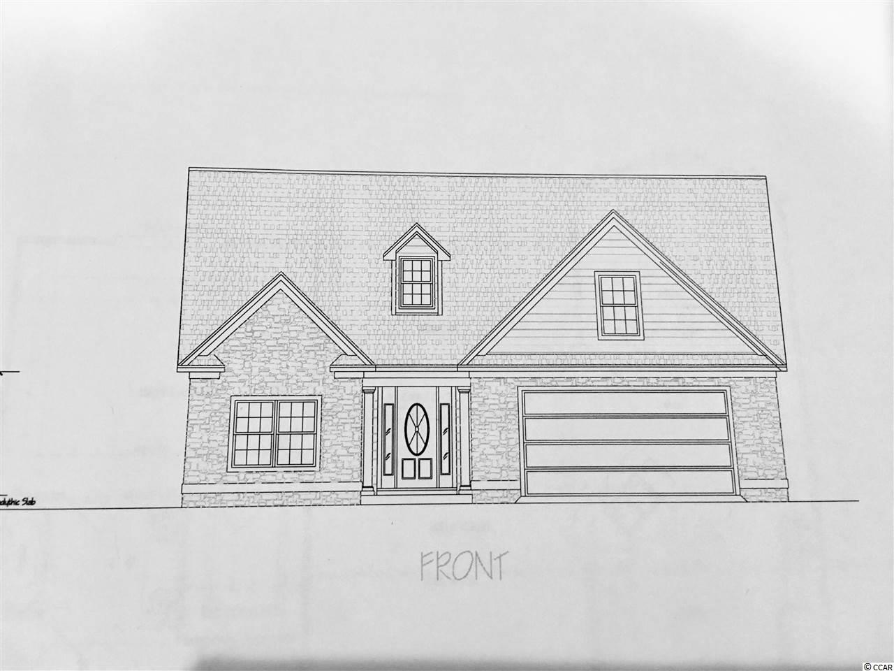 NO HOA! In Aynor school district.  This new construction home is on a 1/2 lot with granite counter tops, upgraded laminate flooring, stainless appliances and open floor plan.  Construction to begin this summer.