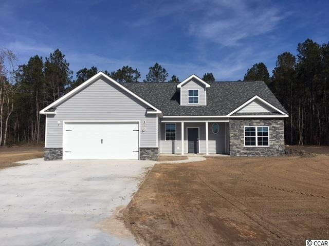 NO HOA! In Aynor school district.  This new construction home with 5 beds and 3 baths is on 1.24 acres  and has tons of upgrades!   Granite counter tops, upgraded laminate flooring, stainless appliances, an upstairs den/game room.  Master is on the main level. 3 beds downstairs and 2 up.  Construction to begin this summer.