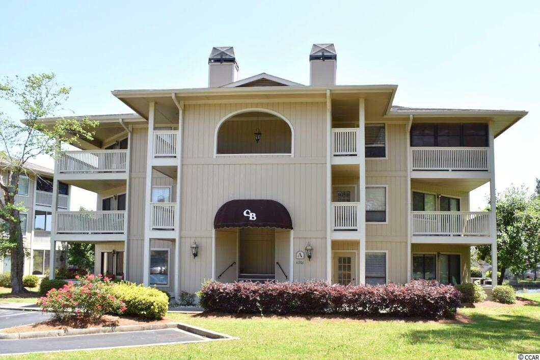 Well maintained FULLY FURNISHED FIRST FLOOR END UNIT!!! This condo has two balconies. The master bedroom and guest bedroom share a balcony that over looks the pond in Cypress Bay. The second balcony over looks the tennis court and parking lot. Low monthly HOA! This condo is located only an estimate of 10 minutes away from the beach, shops, restaurants, golf, and entertainment that North Myrtle Beach, SC has to offer! Buyer is responsible for all measurement verification's.