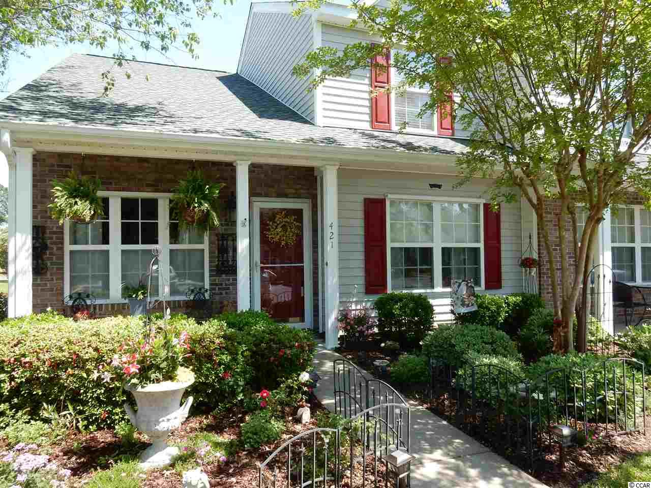 Don't miss this well cared for home in Murrells Inlet.   3 bedrooms, 2 1/2 bath. Master on first floor.   Kitchen and Carolina room overlook peaceful pond. Perfect location close to shopping, beach , Marshwalk, Huntington Beach. Brookgreen Gardens. Seller cannot move until Oct 1
