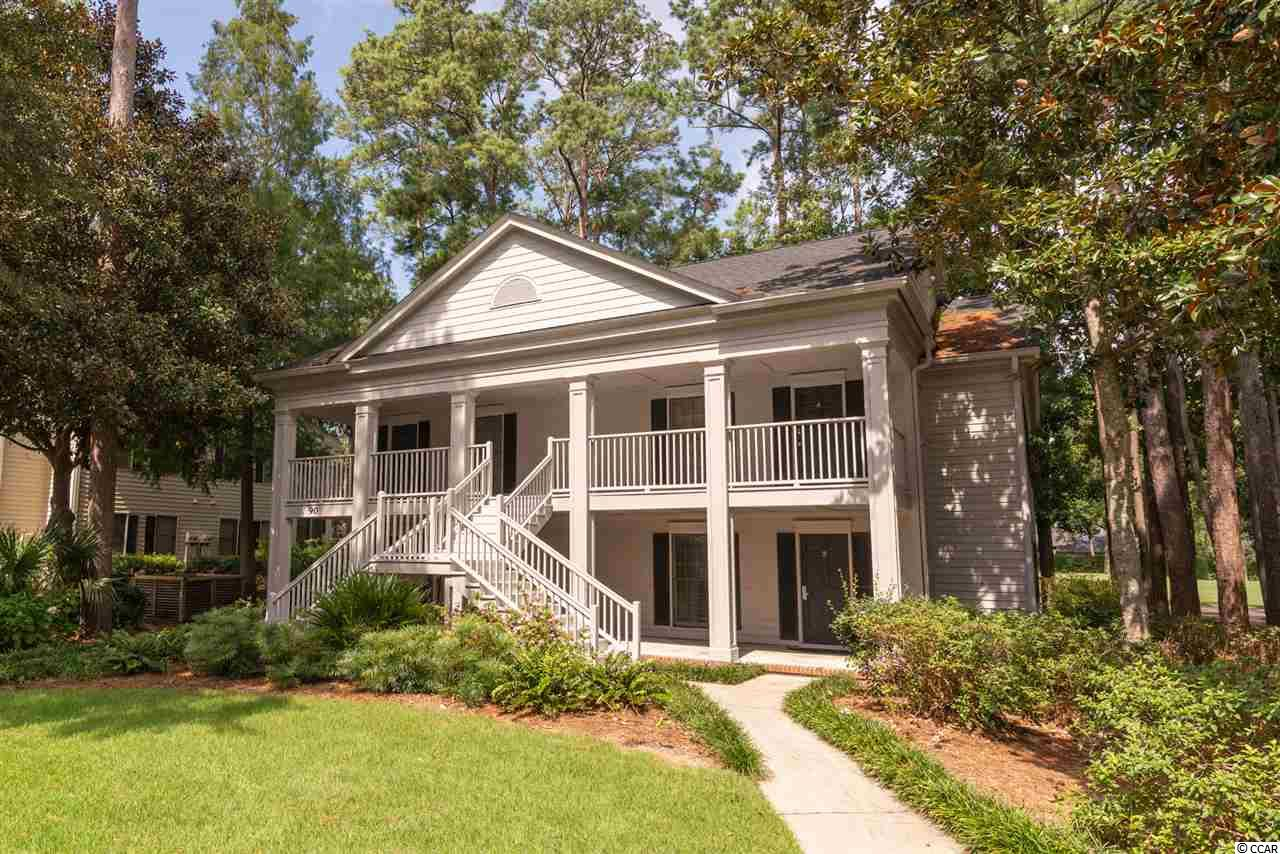 This 2nd floor condo unit is nicely decorated and located in the private gated community of Pawleys Plantation. With 2 bedrooms and two baths this unit offers access to golf, dining. fishing, shopping and the beach is just minutes away. Unit features full kitchen, washer/dryer, screen porch, 1 king bed in the master, 2 Queen beds in the 2nd bedroom, private baths for both bedrooms, wifi, cable TV, pool access and much more. Being offered fully furnished. Come spend a week, weekend or the winter at this super location in Pawleys Island, South Carolina. Unit is located on the 2nd floor with great view.  Great vacation rental or full time residence.