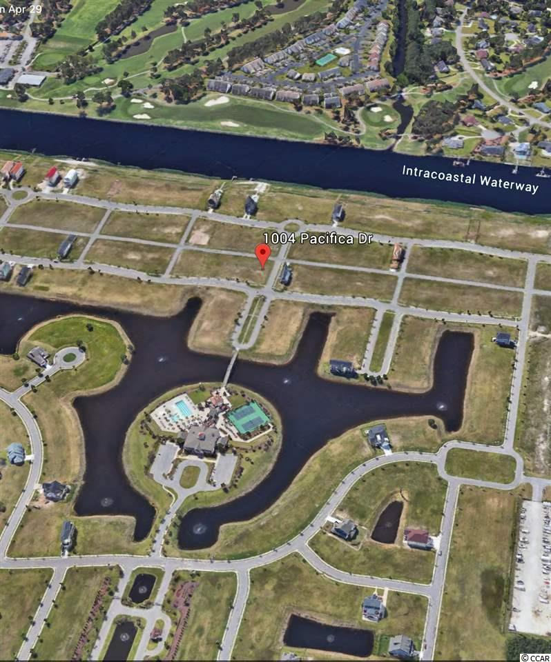 Vacant corner lot in the beautiful gated community of Waterway Palms Plantation. Build your dream home in this Intercoastal Waterway community and enjoy the Beautiful Views and upscale amenities. Georgous swimming pool, tennis courts, secure boat storage, private double boat ramp. Short walk to the clubhouse. Great location just minutes from the ocean and all that Myrtle Beach has to offer.