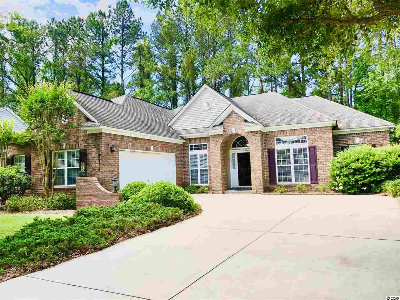 "A must-see  3 bed, 2 bath home in the Cedar Creek community of the highly regarded Barefoot Resort & Golf development located in the Windy Hill section of North Myrtle Beach. The home sits at the end of a charming cul-de-sac in one of the most private locations in Barefoot. The property backs to the conservation area affording beauty and privacy in perpetuity. The wooded and well-landscaped property makes for easy outdoor maintenance and provides shade to beat the summer heat guaranteeing more free time to enjoy the many amenities available in the resort and North Myrtle Beach. This home's customized  floor plan offers the best in southern living and classic character. Entering the foyer, you immediately see the spacious office through French doors. Walking straight ahead beyond the foyer you enter the formal dining room through another set of classic French doors. This elegant dining area looks out on park-like beauty through a wall of windows and is easily accessible to the spacious kitchen featuring plenty of oversized cabinets, Corian countertops and a breakfast bar. Here the floor plan opens to the roomy breakfast nook with its sunny wall of windows and sliding glass door leading to the stamped concrete patio. The adjacent living/family room, featuring a corner fireplace, built-in shelves and an entertainment component niche, opens up to another set of French doors into the gorgeous Carolina room with plenty of natural light and vaulted ceilings. The over-sized master bedroom, located in the more private part of the home, features another window wall, tray ceiling and separate door to the patio. The adjoining master bath has a dual sink vanity, a shower, garden tub, private commode and linen closet with an large adjacent walk-in closet. Additionalfeatures include a large laundry room with cabinet storage above, premium overhead fans/lights and blinds throughout, Central vacuum, a built-in security system, two-car garage with a  utility-sink and  additional door to the side of the home, and an above and at-ground storage. Your monthly HOA fee includes security system monitoring, high speed internet, cable, access to the residents-only club with its fitness center, library, party room, pool table, kitchen, swimming pool, playground, basketball and tennis courts, gazebo and walking trails. These fees provide access to the ""Tower"" swimming pool at the front of Barefoot and use of the resort-owned beach cabana and dedicated beach parking just two miles away. Barefoot is home to four championship golf courses (Love, Fazio, Norman, Dye), a golf academy and driving range. Resort golf memberships are available for those ""can't get enough"" golfers. Access to two restaurants and the marina without ever leaving the property or, from the marina, take the shuttle across the waterway to Barefoot Landing with its restaurants, shops, tourist attractions and sightseeing. Or if you prefer you can walk or drive across the swing bridge to get to the ""The Landing"", grocery store or pharmacy all without using highway 17. The rest of America's summer playground is easily accessed using Water Tower Rd. to get to route 31 and route 90. If you are looking for a great place on the Grand Stand don't miss seeing this home!"